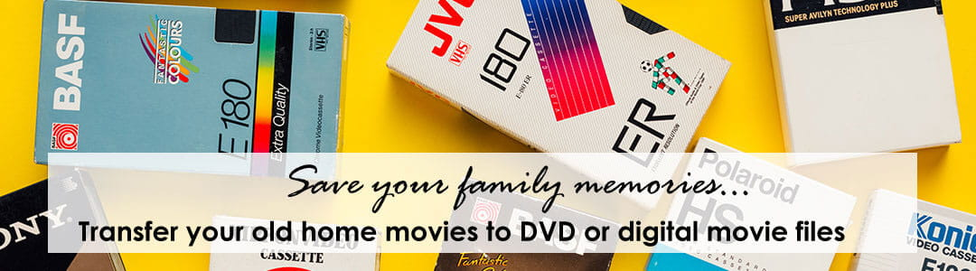 Video tapes and movie film.